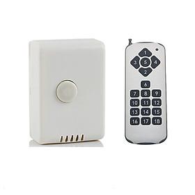 Bộ công tắc điều khiển từ xa sóng RF công suất lớn TPE RC1A + Remote 18 nút R3.4