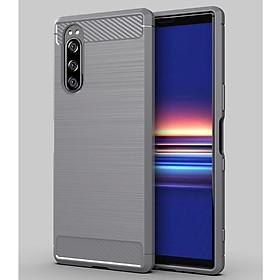 Ốp lưng chống sốc Vân Sợi Carbon cho Sony Xperia 5