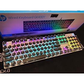 BÀN PHÍM VI TÍNH HP G9K 400Y ĐEN LED USB, KEYBOARD CƠ, BLUE SWITCH, HƠN 20 CHẾ ĐỘ ĐÈN-HÀNG CHÍNH HÃNG