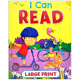 I Can Read (Large Print)