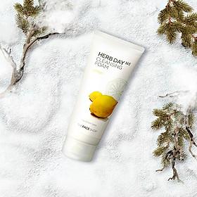 The Face Shop Daily Herbal Lemon Foam Cleanser 170ml