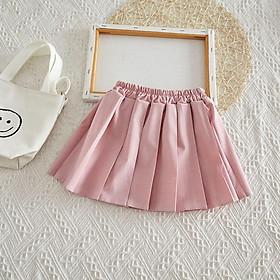 CV5Size90-130 (12-30kg)Chân Váy bé gái - Kiểu dáng xoèThời trang trẻ Em hàng quảng châu