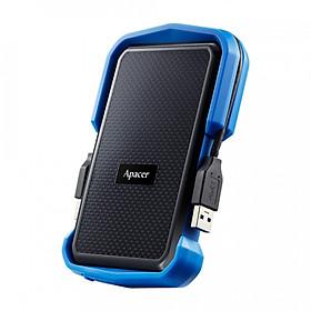 Hình đại diện sản phẩm Ổ cứng di động 1TB chống Sock Apacer AC631 Military-Grade USB 3.1 Gen 1 AP1TBAC631U-1 - Hàng Chính Hãng