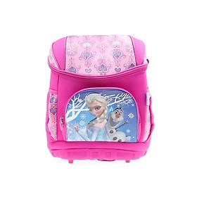 Balo phù chống gù lưng 15'' hình công chúa Elsa Anna Frozen màu hồng dành cho học sinh , trẻ em ,bé gái - BLHFZ15H (30x18x38cm)