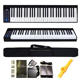 Đàn Piano Điện PH61 Konix 61 Phím nặng Cảm ứng lực - Midi Keyboard Controllers PH-61 - Kèm Kèn Kazoo DreamMaker