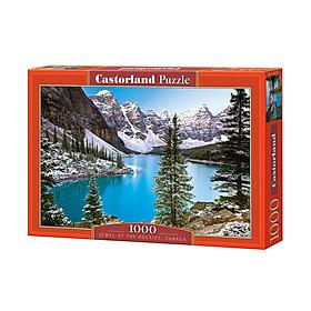 C102372 Đồ chơi ghép hình puzzle Jewel Of The Rckies 1000 mảnh Castorland