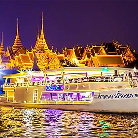 Xe Đưa Đón + Bữa Tối Trên Chao Phraya Princess (Từ Bến Tàu River City Pier)