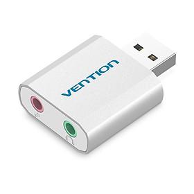 Đầu chuyển đổi USB ra Sound  Vention VAB-S13 - Hàng Chính Hãng