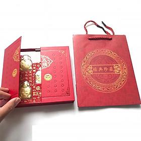 Bộ Ngũ Phúc - Phúc Lộc Thọ Tài Hỷ, vật phẩm phong thủy trưng bày trong nhà, nơi làm việc, mang lại sự may mắn, tài lộc, quà biếu tặng lì xì dịp Lễ Tết đầy ý nghĩa - TMT Collection - SP000404