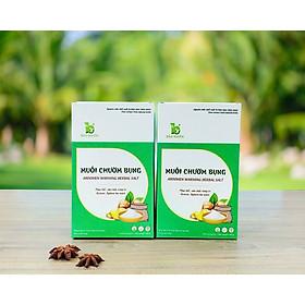 Combo 2 Muối chườm bụng Bảo Nhiên 850g giúp Săn bụng – Giảm eo – Mờ rạn + Tặng kèm túi đựng muối trong mỗi hộp