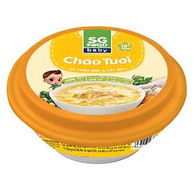 Cháo Tươi Baby Gà Thảo Mộc & Hạt Sen SG Food (240g)