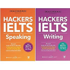 Combo 2 Cuốn Hackers IELTS : Hackers IELTS Speaking + Hackers IELTS Writing