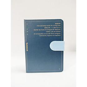 Sổ Bìa Cứng Nút Hít 17122 ( Màu Ngẫu Nhiên )