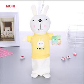 Túi đựng bút/hộp đựng bút hình thỏ MOHI KAQIQI - Chính hãng