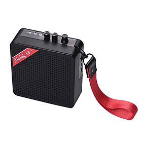 Loa Khuếch Đại Guitar Mini Muslady MS-5 Hỗ Trợ Kết Nối BT Với Khe Thẻ Nhớ Và Tai Nghe (5W) - Hàng Chính Hãng