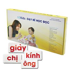 Thẻ Học Flashcard Glenn Doman Chuẩn Cho Bé - Bộ 300 Thẻ Tiếng Việt