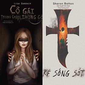 Combo 2 cuốn truyện trinh thám hồi hộp , gay cấn : Cô gái trong chiếc thùng gỗ + Kẻ sống sót - Dead woman walking (Tặng kèm bookmark HappyLife AHA)