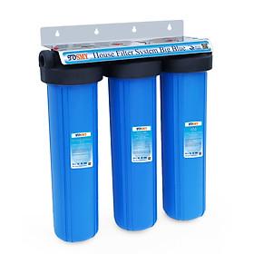 Bộ lọc nước 3 giai đoạn siêu sạch 20 inch Bigblue- Hàng chính hãng