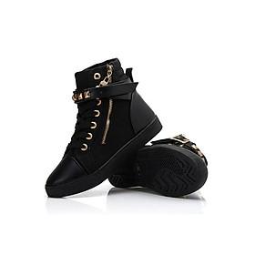 Giày boot thể thao phong cách Hàn Quốc 002DB