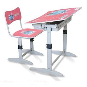 Bộ bàn ghế học sinh tiểu học Xuân Hòa BHS-14-07