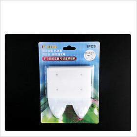 Giá treo ổ cắm điện có MÓC treo đồ thông minh dán tường, dụng cụ cố định vật dụng gia đình đa năng, tiện dụng