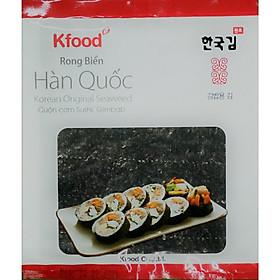 Rong Biển Cuộn Cơm K-Food (gói 10 lá)