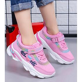 giày thể thao đi học cho bé gái êm chân sezi 30 đến 38 - TH10