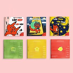 Combo 6 cuốn sách Ehon Chơi cùng cáo Ken và Đi đâu thế