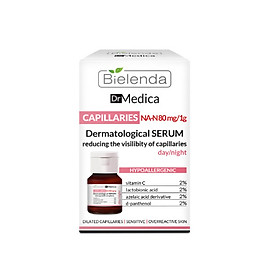 Tinh chất Bielenda Dr Medica Capillaries Dermatological Serum Day Night 30ml