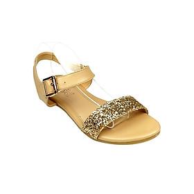 Giày Sandal Bệt Nữ SUNDAY SD18 - Kem