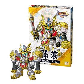 Gundam Tôn Sách Giang Đông Tiểu Bá Vương - Đồ Chơi Mô Hình Lắp ghép Tam Quốc A012