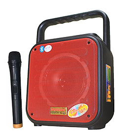 Loa kẹo kéo karaoke bluetooth Temeisheng A6-4 - Hàng nhập khẩu