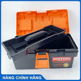 Hộp đựng đồ nghề dụng cụ sửa chữa KIOTOOL nhựa cao cấp chắc chắn phù hợp với thợ đi công trình thợ điện nước