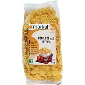 Ngũ cốc hữu cơ bắp (ngô) cán dẹp Markal 200g