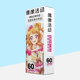 Hộp ảnh bookmark AIKATSU! - HỌC VIỆN THẦN TƯỢNG 60 tấm anime