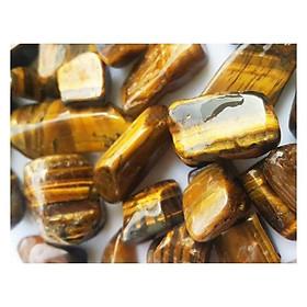 Đá Thạch Anh Vàng Mắt Hổ ( 300 Gram )
