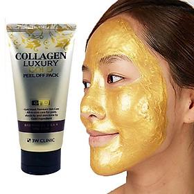 Mặt nạ dưỡng trắng da - Gel đắp mặt nạ tinh chất vàng 24K 3W CLINIC Hàn Quốc 100ml