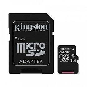 Thẻ nhớ Kingston SDCS 64GB - Hàng Chính Hãng