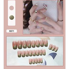 Bộ 24 móng tay giả nail thơi trang như hình (R071)