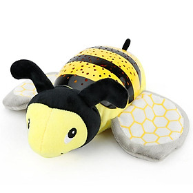 Music Soothing Projection Bee Light