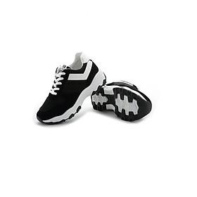 Giày thể thao sneaker phong cách Hàn Quốc TT058D (Đen)