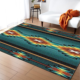 Vintage Ethnic Style Carpet for Living Room Home Bedroom Coffee Table Area Floor Mat