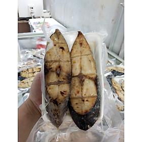 [chỉ giao HCM] Cá Thu nướng Than Hồng đặc sản Nghệ An 1kg 4  khúc