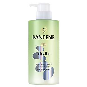 Dầu Gội Pantene Pro-V Micellar Làm sạch & Dưỡng ẩm Chiết xuất Hoa súng 300 ml