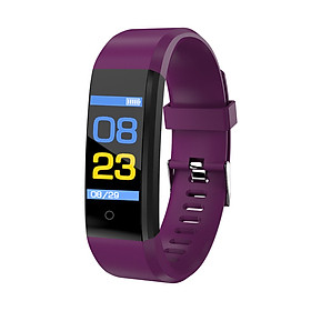 Smart Bracelet Fitness Tracker 0.96in TFT Display Screen Heart Rate Monitor Sleep Monitoring Call Reminder Smart Band Sport Pedome-2