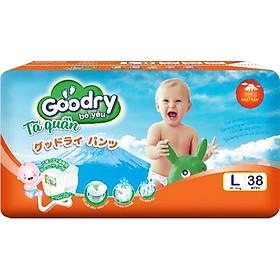 Tã Quần Goodry Lớn L38 (9-14kg)-0