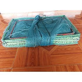 Lưới Lồng Bát Quái 19 khung - kích thước khung 30cm x 50cm bắt cá lớn