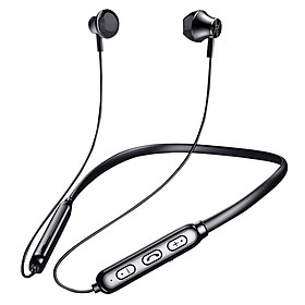 Bluetooth headphones wireless sports running around the neck with two ears in the ears of Apple OPPO War for about