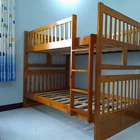 Giường Tầng GT013(1m2)-OAK