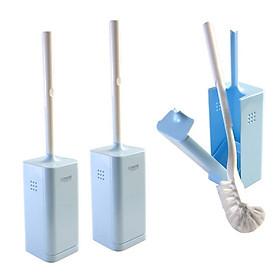 Bộ 3 chổi cọ vệ sinh Toilet có hộp đựng tiện lợi - Hàng nội địa Nhật